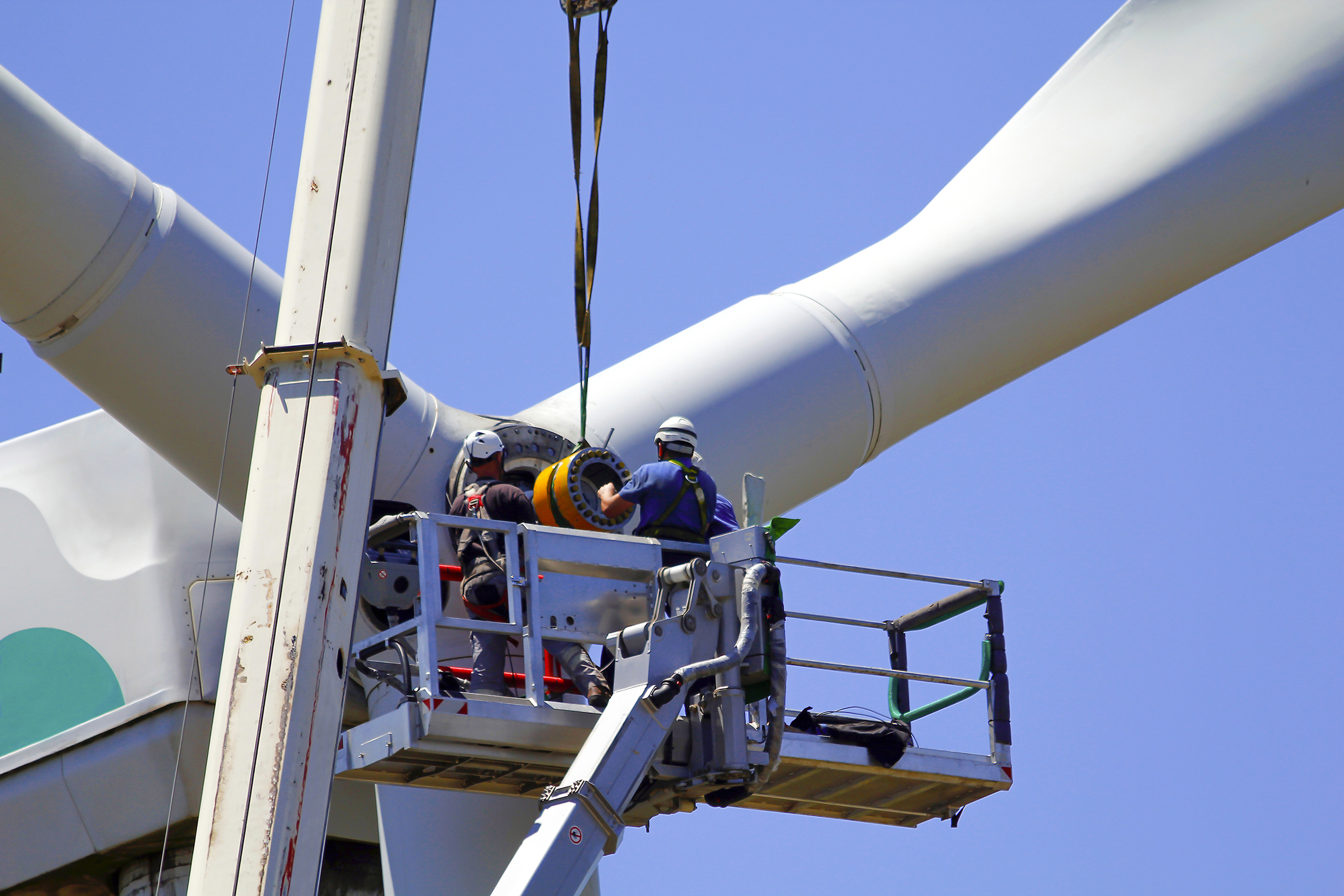 Installing a wind turbine